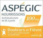 ASPEGIC NOURRISSONS 100 mg, poudre pour solution buvable en sachet-dose à Saint-Cyprien