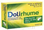 DOLIRHUME PARACETAMOL ET PSEUDOEPHEDRINE 500 mg/30 mg, comprimé à Saint-Cyprien