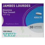 DIOSMINE TEVA CONSEIL 600 mg, comprimé pelliculé à Saint-Cyprien