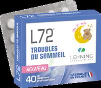 Lehning L72 Comprimés Orodispersibles Plq Pvc/pvdc/alu/40 à Saint-Cyprien