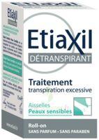 Etiaxil Aisselles Détranspirant Peau Sensibles Roll-on/15ml à Saint-Cyprien