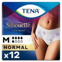 Tena Lady Silhouette Slip Absorbant Blanc Normal Médium Paquet/12 à Saint-Cyprien