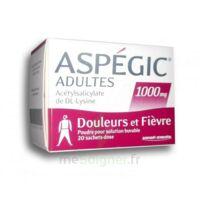 Aspegic Adultes 1000 Mg, Poudre Pour Solution Buvable En Sachet-dose 20 à Saint-Cyprien