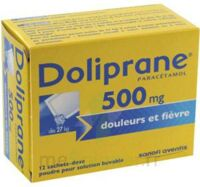 DOLIPRANE 500 mg Poudre pour solution buvable en sachet-dose B/12 à Saint-Cyprien
