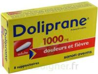 DOLIPRANE 1000 mg Suppositoires adulte 2Plq/4 (8) à Saint-Cyprien