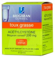 Acetylcysteine Biogaran Conseil 200 Mg Pdr Sol Buv En Sachet B/20 à Saint-Cyprien