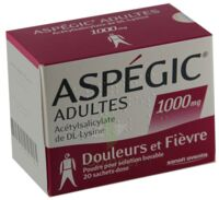 Aspegic Adultes 1000 Mg, Poudre Pour Solution Buvable En Sachet-dose 15 à Saint-Cyprien
