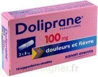 DOLIPRANE 100 mg Suppositoires sécables 2Plq/5 (10) à Saint-Cyprien