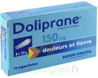 DOLIPRANE 150 mg Suppositoires 2Plq/5 (10) à Saint-Cyprien