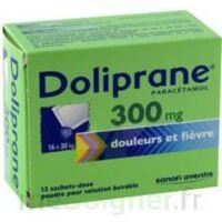 DOLIPRANE 300 mg Poudre pour solution buvable en sachet-dose B/12 à Saint-Cyprien