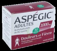 Aspegic Adultes 1000 Mg, Poudre Pour Solution Buvable En Sachet-dose 30 à Saint-Cyprien