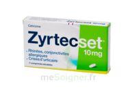 Zyrtecset 10 Mg, Comprimé Pelliculé Sécable à Saint-Cyprien