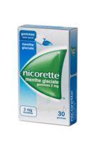 NICORETTE 2 mg Gom à mâcher médic sans sucre menthe glaciale Plq/30gom à Saint-Cyprien