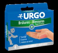 URGO BRULURES-BLESSURES PETIT FORMAT x 6 à Saint-Cyprien