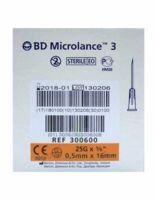 BD MICROLANCE 3, G25 5/8, 0,5 mm x 16 mm, orange  à Saint-Cyprien