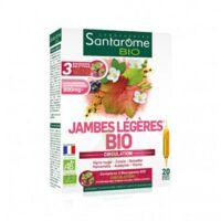 Santarome Bio Jambes Légères Solution Buvable 20 Ampoules/10ml à Saint-Cyprien