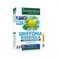 Santarome Bio Griffonia Rhodiola Solution buvable 20 Ampoules/10ml à Saint-Cyprien