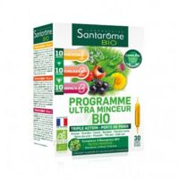 Santarome Bio Programme ultra minceur Solution buvable 30 Ampoules/10ml à Saint-Cyprien