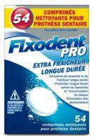 Fixodent Pro Comprimés Nettoyant Fraîcheur Longue Durée Pour Prothèse Dentaire B/54 à Saint-Cyprien