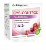 Cys-control 36mg Poudre Orale 20 Sachets/4g à Saint-Cyprien