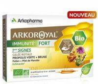 Arkoroyal Immunité Fort Solution Buvable 20 Ampoules/10ml à Saint-Cyprien