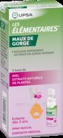 LES ELEMENTAIRES Spray buccal maux de gorge enfant Fl/20ml à Saint-Cyprien
