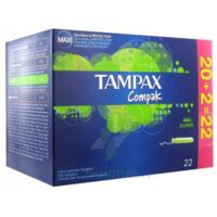 Tampax Compak, Super, Bt 22 à Saint-Cyprien