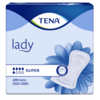 Tena Lady Protection Anatomique Adhésive Super Sachet/30 à Saint-Cyprien