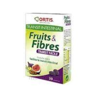 ORTIS FRUITS & FIBRES TRANSIT FACILE COMPRIME, bt 30 à Saint-Cyprien