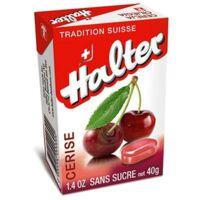 Bonbons sans sucre Halter cerise à Saint-Cyprien