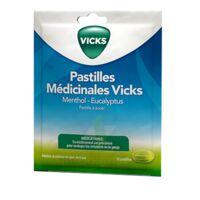 PASTILLES MEDICINALES VICKS Past à sucer menthol eucalyptus Sach/30 à Saint-Cyprien
