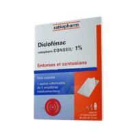 DICLOFENAC RATIOPHARM CONSEIL 1 %, emplâtre médicamenteux à Saint-Cyprien