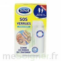 Scholl SOS Verrues traitement pieds et mains à Saint-Cyprien
