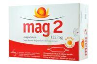 MAG 2 122 mg S buv en ampoule sans sucre édulcoré à la saccharine sodique 30Amp/10ml à Saint-Cyprien