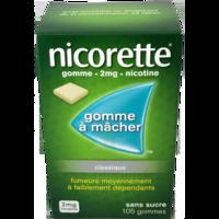 NICORETTE 2 mg Gom à mâcher médic sans sucre menthe fraîche Plq/105gom à Saint-Cyprien