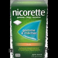 NICORETTE 2 mg Gom à mâcher médic sans sucre fruits Plq/30 à Saint-Cyprien