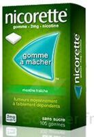 Nicorette 2 Mg Gom à Mâcher Médic Sans Sucre Menthe Fraîche Plq/30gom à Saint-Cyprien