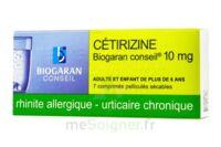 Cetirizine Biogaran Conseil 10 Mg, Comprimé Pelliculé Sécable à Saint-Cyprien