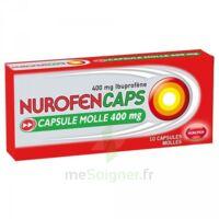 Nurofencaps 400 Mg Caps Molle Plq/10 à Saint-Cyprien