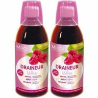 MILICAL DRAINEUR ULTRA Solution buvable framboise 2*500ml à Saint-Cyprien