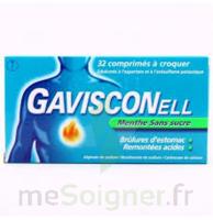 Gavisconell Coprimés à Croquer Sans Sucre Menthe édulcoré à L'aspartam Et à L'acésulfame Potas Plq/24 à Saint-Cyprien