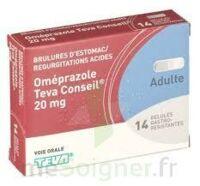 OMEPRAZOLE TEVA CONSEIL 20 mg Gél gastro-rés Plq/14 à Saint-Cyprien