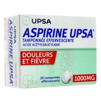 Aspirine Upsa Tamponnee Effervescente 1000 Mg, Comprimé Effervescent à Saint-Cyprien