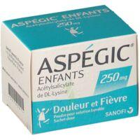 ASPEGIC ENFANTS 250, poudre pour solution buvable en sachet-dose à Saint-Cyprien