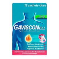 GAVISCONELL Suspension buvable sachet-dose menthe sans sucre 12Sach/10ml à Saint-Cyprien