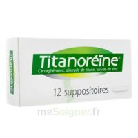 TITANOREINE Suppositoires B/12 à Saint-Cyprien
