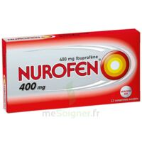 NUROFEN 400 mg Comprimés enrobés Plq/12 à Saint-Cyprien
