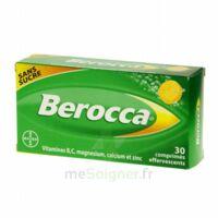 Berocca Comprimés effervescents sans sucre T/30 à Saint-Cyprien