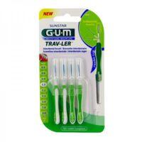 Gum Trav - Ler, 1,1 Mm, Manche Vert , Blister 4 à Saint-Cyprien