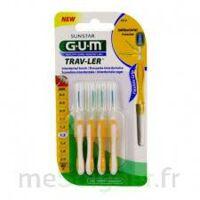 GUM TRAV - LER, 1,3 mm, manche jaune , blister 4 à Saint-Cyprien